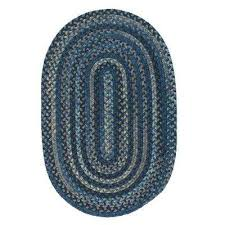 cage laa 4 ft x 6 ft oval braided area rug