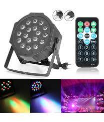 Buy 18w Rgb Led Stage Light Dmx Par Can Dj Disco Uplighter