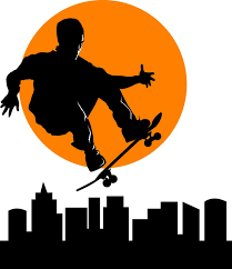 skateboard wall decal wall decals