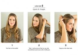 10 easy ways to style hair