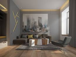 3 one bedroom homes with sharp geometric decor