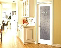 glass pantry doors for interior slab doors glass pantry door home depot half frosted with