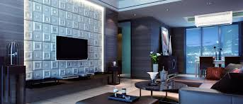 Wall Panelling Living Room Interesting Textured Wall Panels Living Room With Tv Wall Mount In