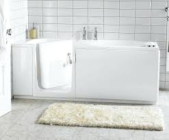 shower bath combination sofa modern combo walk in bathtub to conversion large size of bathroom design