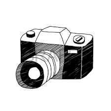 一眼レフカメラのイラストサムネイル Illustration イラスト一眼