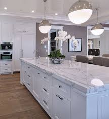 White Countertop Kitchen Design
