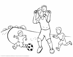 Small Picture Coloring Pages Soccer Coloring234