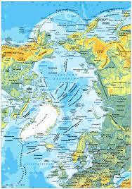Северный Ледовитый океан Карта Северного Ледовитого океана  Карта Северного Ледовитого Океана