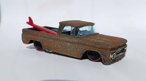 how to rust hotwheels using salt and water