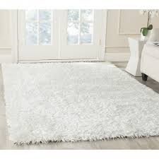 white area rug hand tufted silken off white area