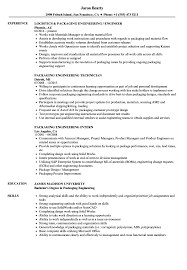 Resume For Packaging Job Packaging Engineering Resume Samples Velvet Jobs 15