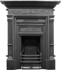 good quality decorative cast iron fireplaces are reproduced by carron traditionally in victorian art nouveau