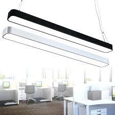 modern office lighting. Modern Office Lighting Led Long Pendant Lights Border Rectangular Aluminum  Narrow Strip Lamp Commercial Modern Office Lighting