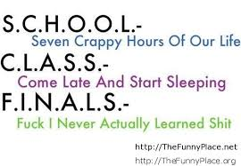 Funny School Quotes And Sayings TheFunnyPlace Beauteous Funny Quotes About School