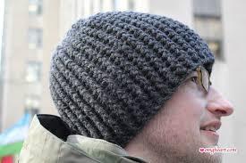 Mens Crochet Beanie Pattern Awesome Hat OMG Heart