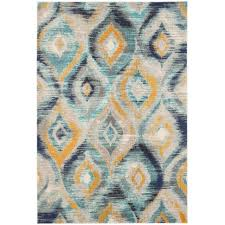 yellow and gray area rug home goods rugs white blue coffee tables grey mustard carpets cream