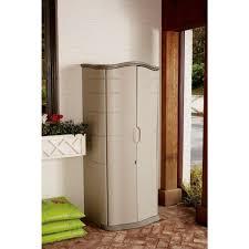 door storage rubbermaid outdoor vertical storage shed plastic