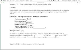 Loan Repayment Contract Free Template Inspiration Loan Repayment Agreement Template Cuplisco