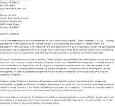 Internal Job Resume Cover Letter Word Cover Letter For Internal