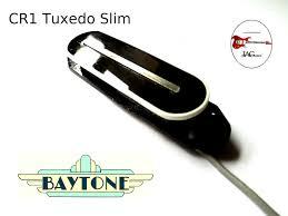 baytone charlie christian cr1 tuxedo slim pickup