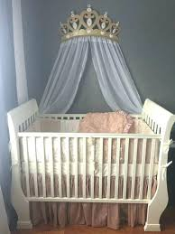 Bed Crown Fabulous Bed Crown Canopy Nursery Crib Crown Canopy Wall ...