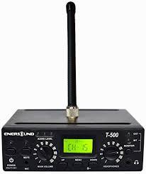 Enersound T-500 <b>FM Multi</b>-Channel Assistive Listening <b>Transmitter</b> ...