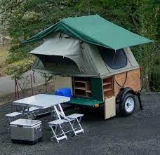 diy tent campers you can build on a