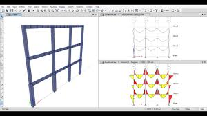 Reinforced Concrete Frame Design Analysis Of 2d Reinforced Concrete Frames Using Etabs 2015