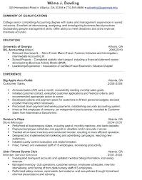 Accountant Resume Sample Resume Directory