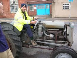 restoring an old ferguson tractor diesel te f
