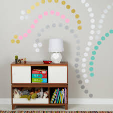 view in gallery colorful polka dot wall decals creating a design