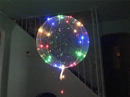 String Light Balloon Details About Led Balloons Clear String Lights Helium Wedding Birthday Party Decor Decorations