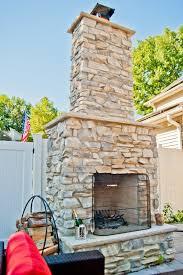 d custom outdoor fireplace design build planners 2