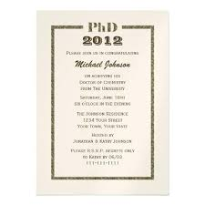 Graduation Invitation Template Interesting Phd Graduation Invitation Doctorate Graduation Invitation Metallic