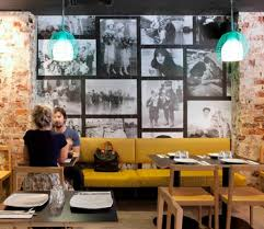 Pizzeria in Perth Inspired by 70's Style Interior Design