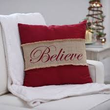 Baby it's Cold Outside: Stay Cozy with a Burlap Pillow