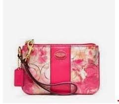 Image is loading NWT-NIB-Coach-Floral-Canvas-Op-Art-Signature-