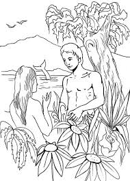 Small Picture Adam and eve coloring pages in eden ColoringStar