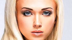 Obočí Pro Blondýnky Jak Si Vybrat Krásnou Barvu Obočí Foto