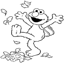 Small Picture Awesome Sesame Street Coloring Pages Elmo Ideas Coloring Page