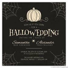 Halloween Wedding Invitations Top 8 Freakishly Awesome Halloween Wedding Invitations