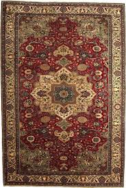 oriental carpet 6 4 x 9 red handmade rug brown navy green gold le rugs