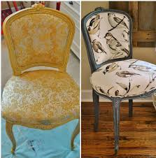 Sophia\u0027s: French Chair Reupholstery Makeover and Tutorial