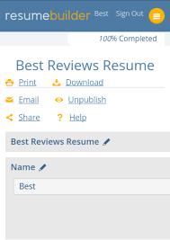 ResumeBuilder.org Setup on Mobile Device