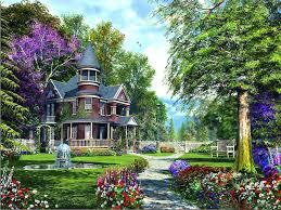 beautiful nature flowers garden