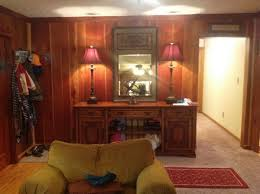 amazing wood paneling makeover