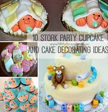 10 Stork Party Cupcake And Cake Decorating Ideas Fill My Recipe Book
