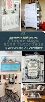 diy repurposed furniture. Awesome Makeovers: Clever Ways With Tutorials To Repurpose Old Furniture! Diy Repurposed Furniture