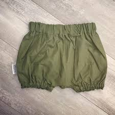 Brindille And Twig Size Chart Khaki Bloomers