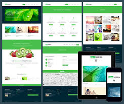 Free Responsive Website Templates Enchanting 28 Free Amazing Responsive Business Website Templates